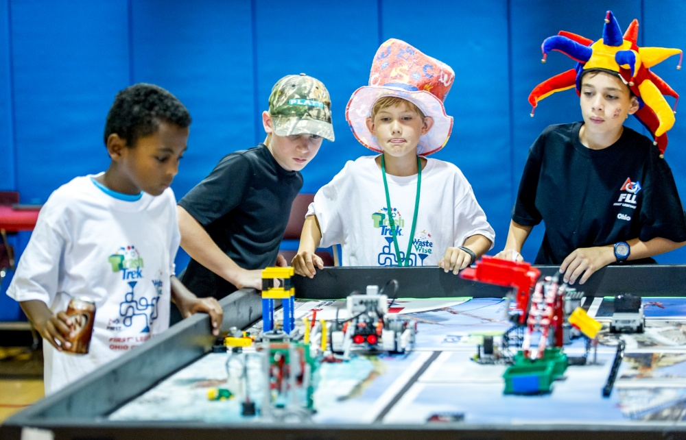 Unleash the STEM power with FIRST® LEGO® League!